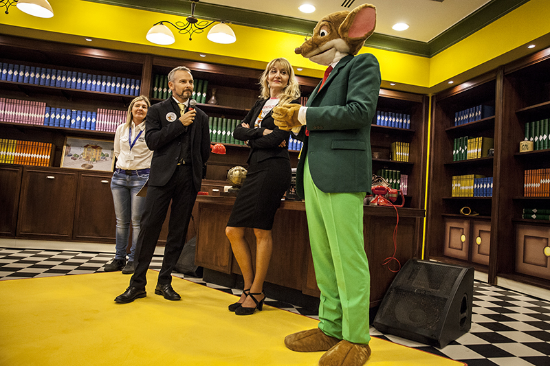 Cinecittà World Geronimo Stilton ha una nuova casa