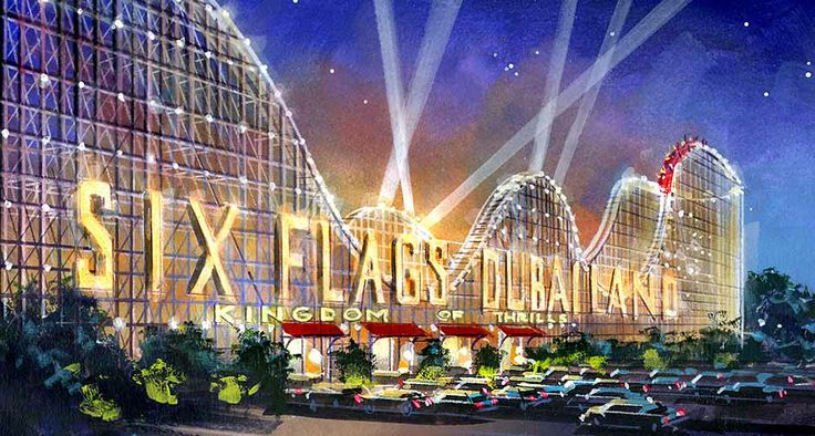 Dubailand Rivelazioni su Six Flags Dubai 2019