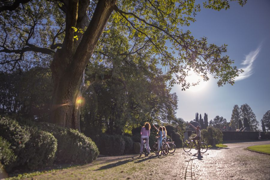 Parco Giardino Sigurtà 28 agosto anteprima Mantova Bike Festival
