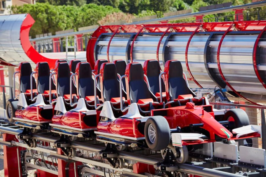Ferrari land Svelati i treni in occasione dell'EAS