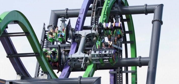 Six Flags Entertainment Corp. Delusione 2017: in cantiere solo tre 4D coaster