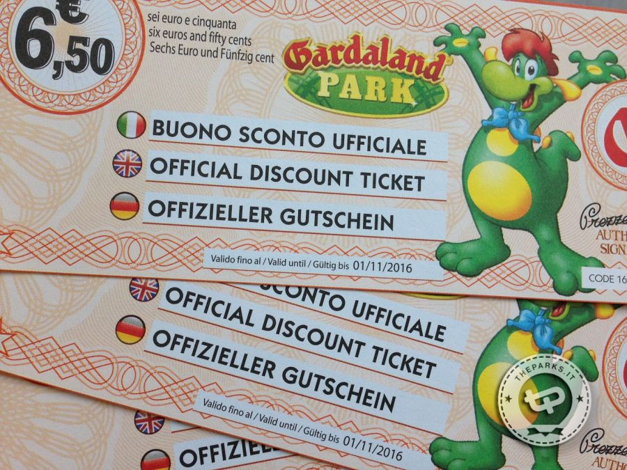 coupon gardaland