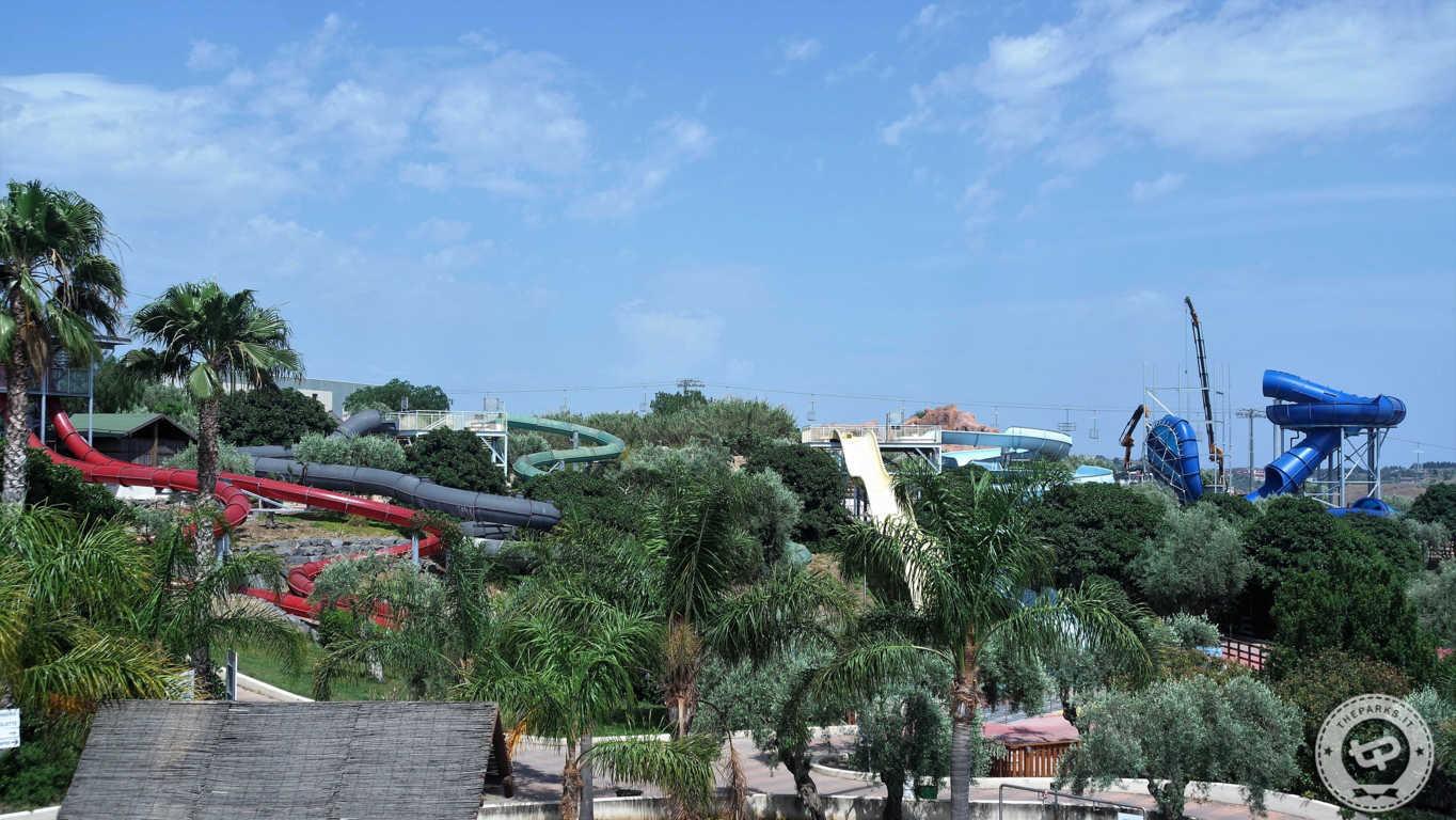 Etnaland Acquapark ESCLUSIVO - Le foto di Colossum e le novità 2017