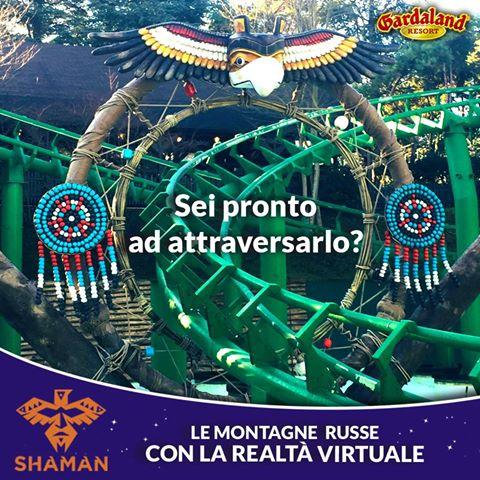 Gardaland Resort Svelato il contenuto del filmato di SHAMAN