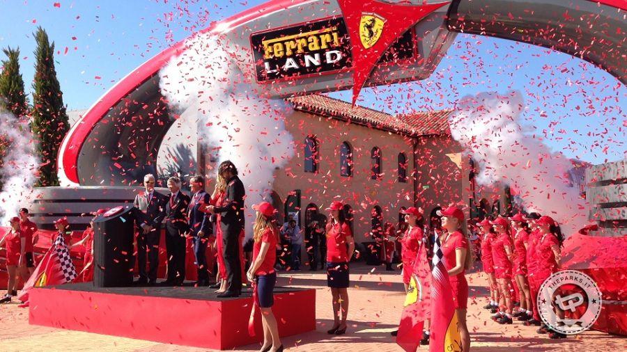 Ferrari land Tutte le 11 attrazioni di Ferrariland
