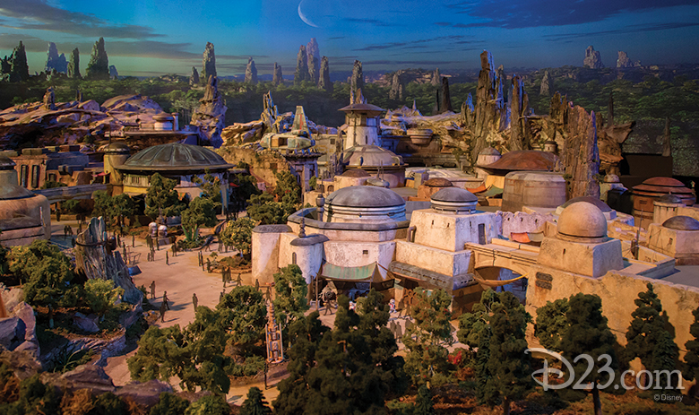 Disney's Hollywood Studios Star Wars Land : ecco come sarà l'area a tema in apertura nel 2019!