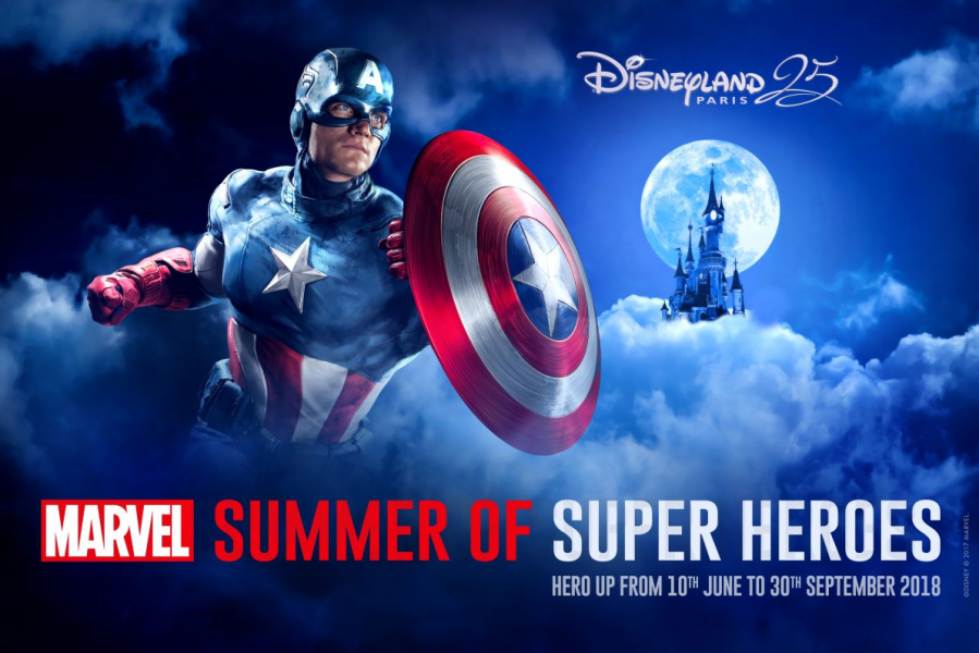 Disneyland Paris (Resort) Un'estate tutta Marvel nel 2018