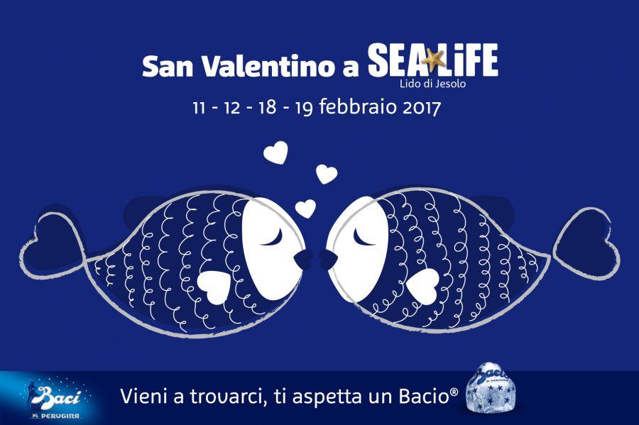 Sea Life Jesolo 2x1 per San Valentino e un bacio in omaggio