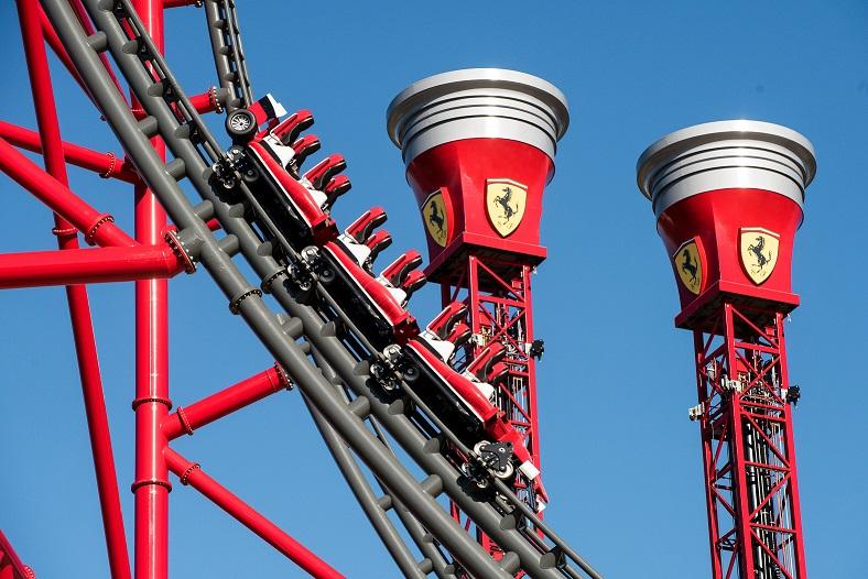 PortAventura Resort Red Force è il più alto e il più veloce d'Europa