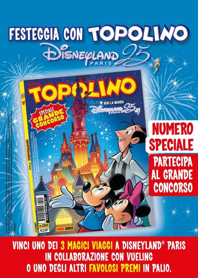 Disneyland Park Paris Topolino (cartaceo) a spasso per il parco