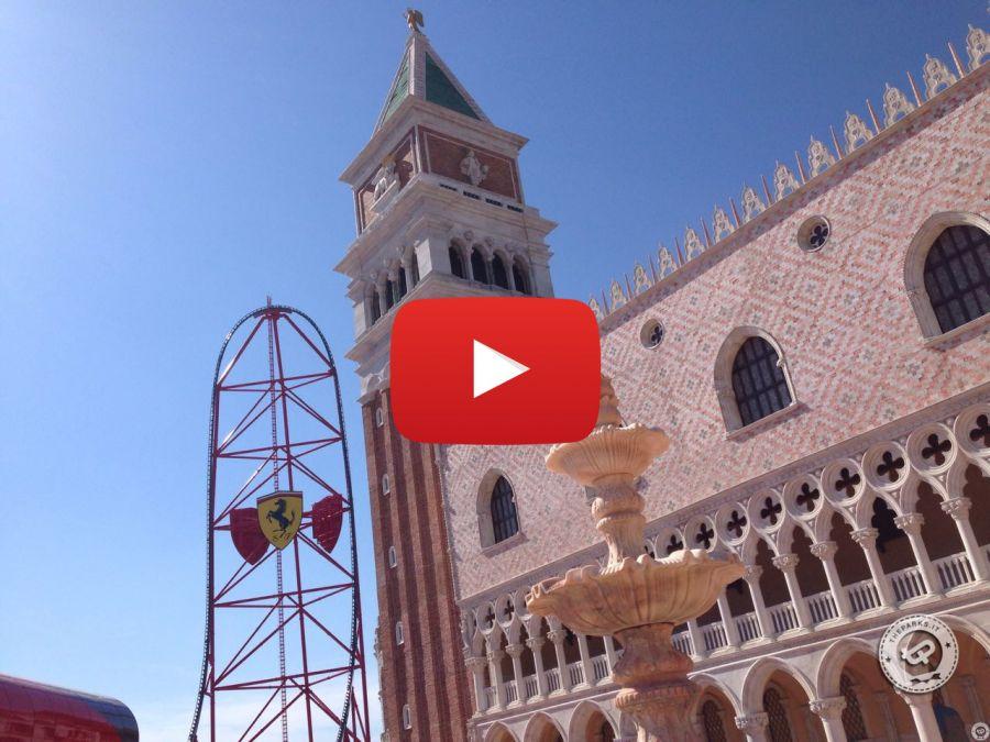 Ferrari land [VIDEO] Red Force POV e panoramica del parco