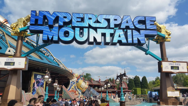 Disneyland Paris (Resort) Hyper Space Mountain: l'abbiamo provato!