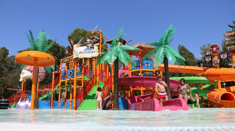 Zoomarine (Roma) Playground acquatico, zipline e nuove interazioni