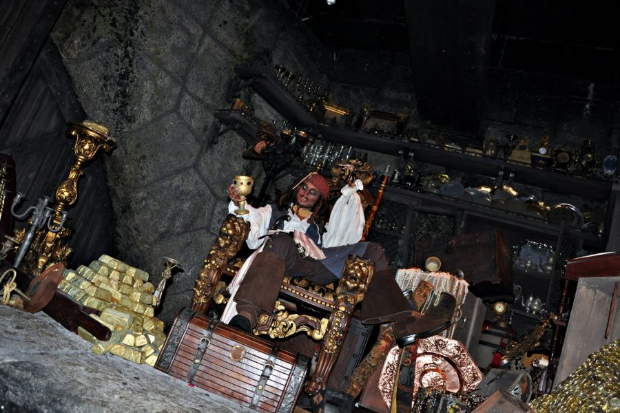 Disneyland Resort (California) Jack Sparrow entra in 'PIRATES OF THE CARIBBEAN'