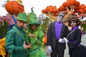 Gardaland - Inaugurazione Halloween Time 2017