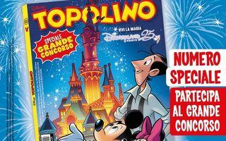 Disneyland Park Paris - Topolino (cartaceo) a spasso per il parco