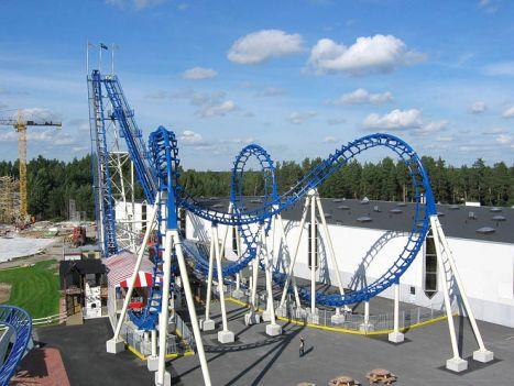 Boomerang coaster