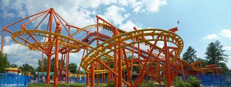 Suspended coaster