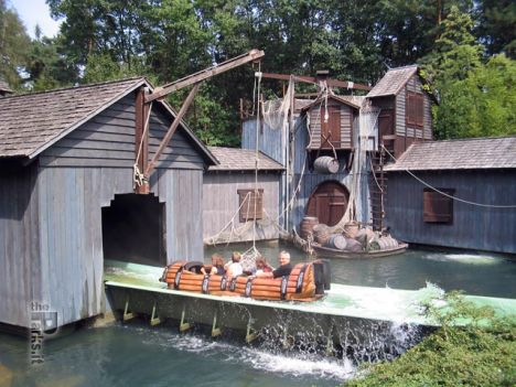 Log flume con inverter