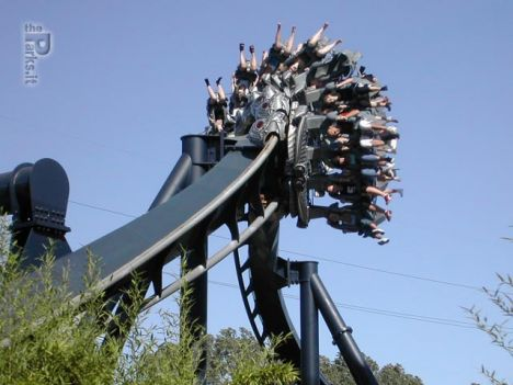 Inverted coaster