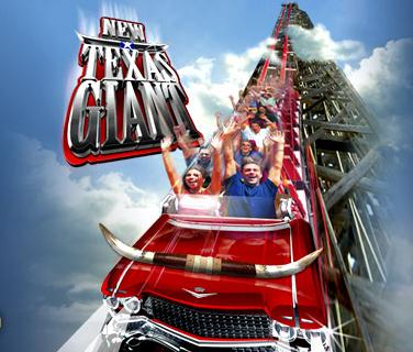 Six Flags Over Texas Il sorprendente New Texas Giant prossimo all'apertura