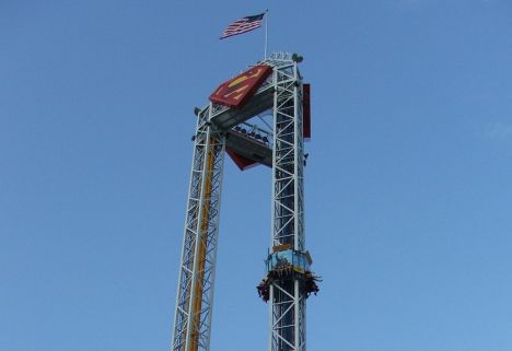 Combo tower ride
