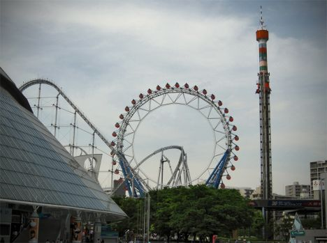 Tokyo Dome City Attractions Amusement Park (LaQua)