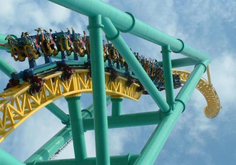 LIM coaster