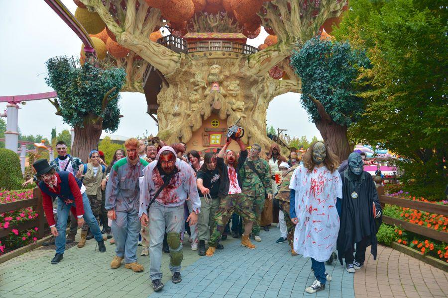 Il Party di Halloween con Gabry Ponte   Gardaland