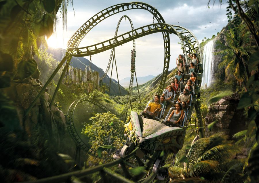 Walibi Belgium KONDAA é pronto ad aprire il nuovo MEGA coaster Intamin