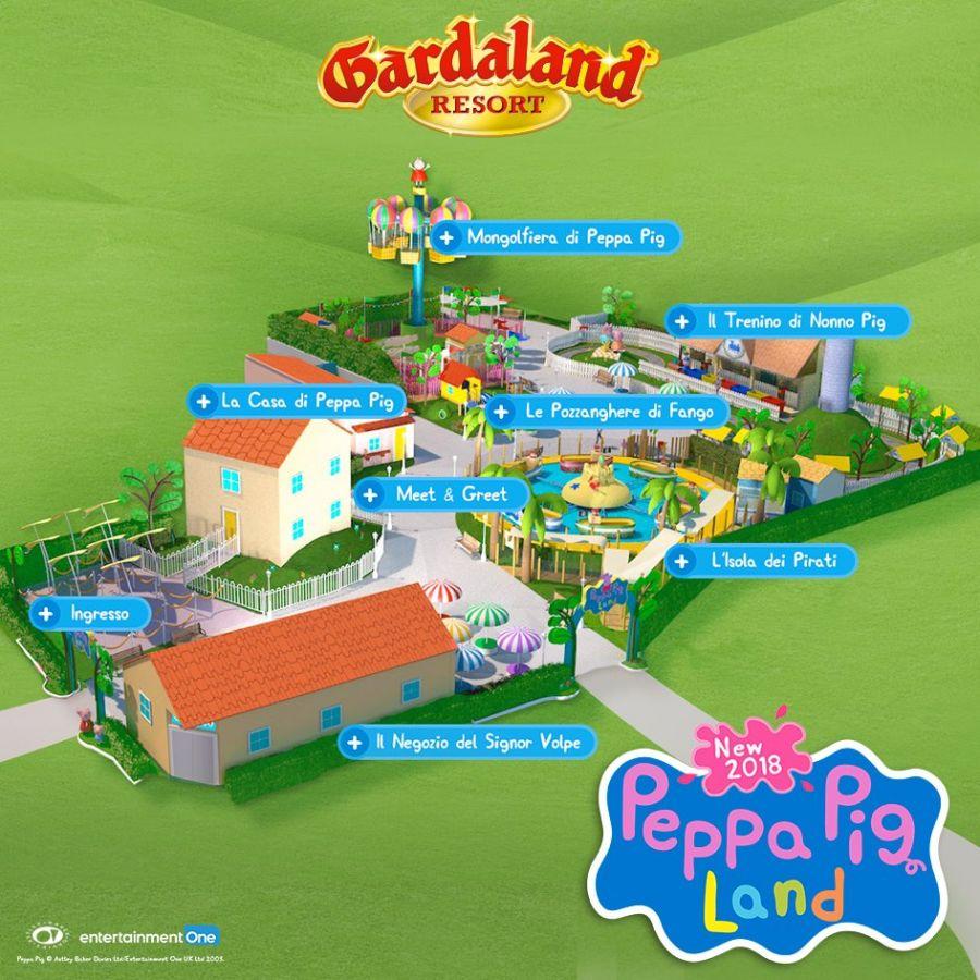 Gardaland [FOTO] Ecco come sarà Peppa Pig Land