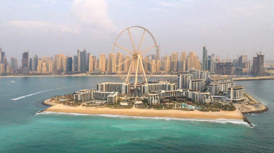 Dubai - La ruota panoramica più alta al mondo nel lusso di Bluewaters