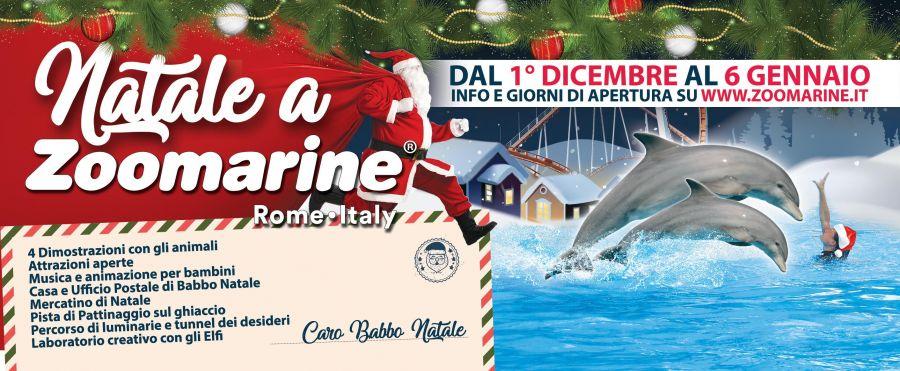 Zoomarine (Roma) Per Natale 16 giorni di eventi!