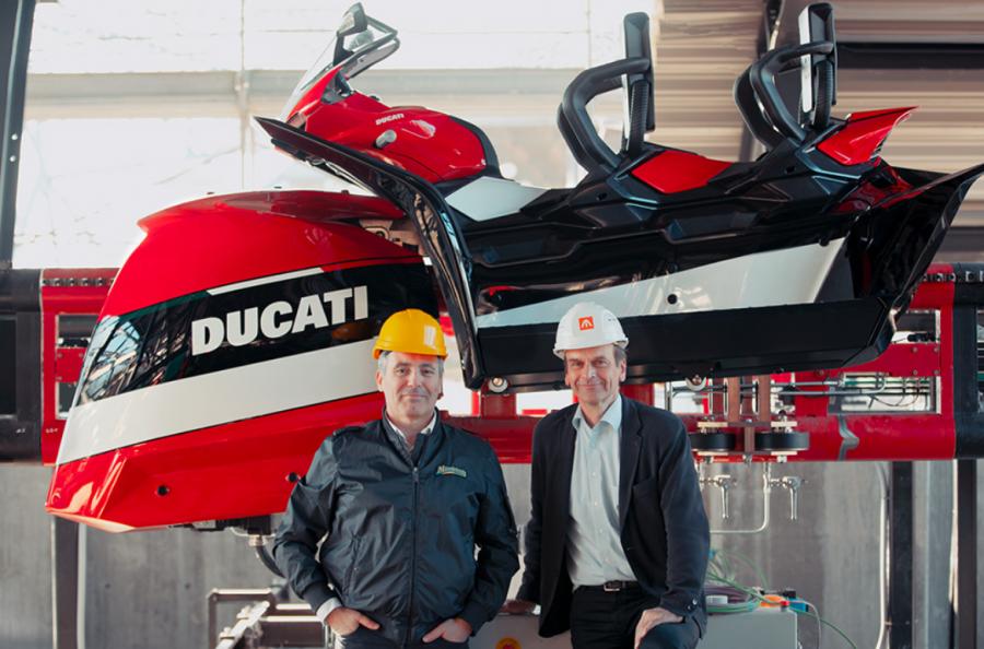 Mirabilandia Svelata la moto del coaster di DucatiWorld