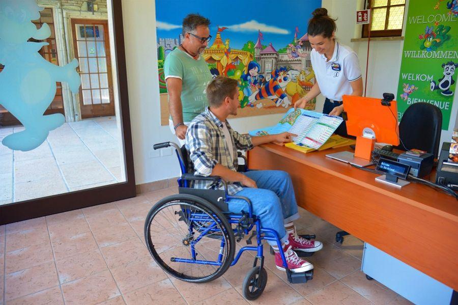 Gardaland La risposta di Gardaland agli ospiti con disabilità