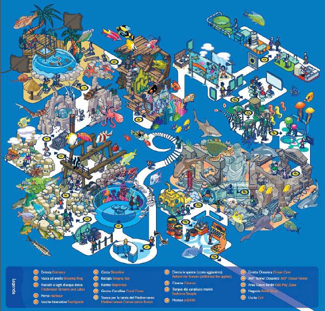 Acquario di Roma Sea Life - Expo Concessionaria chiede il concordato preventivo al Tribunale Fallimentare