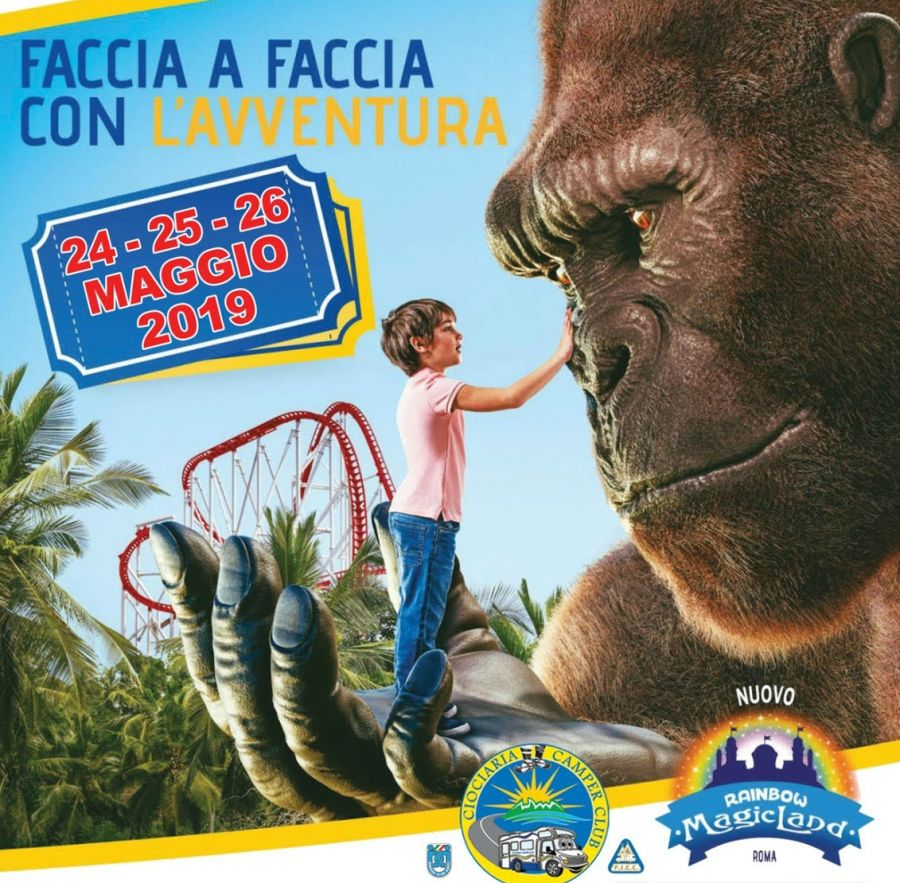 Rainbow MagicLand 24-26 MAGGIO - Raduno Nazionale Camper