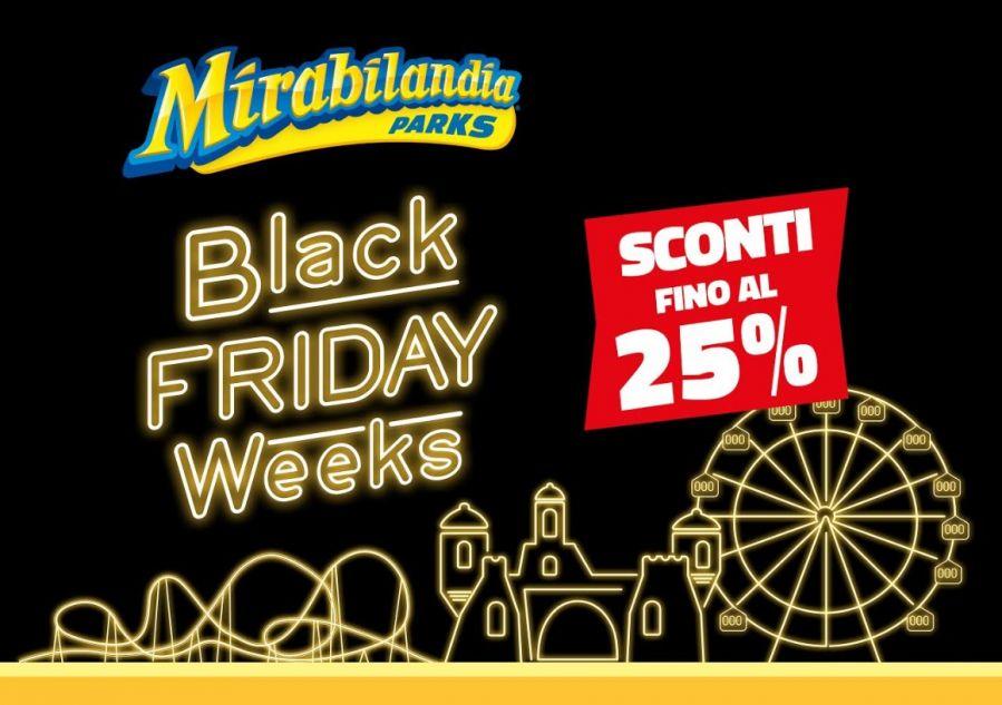 Mirabilandia Per il Black Friday abbonamenti da 41 euro