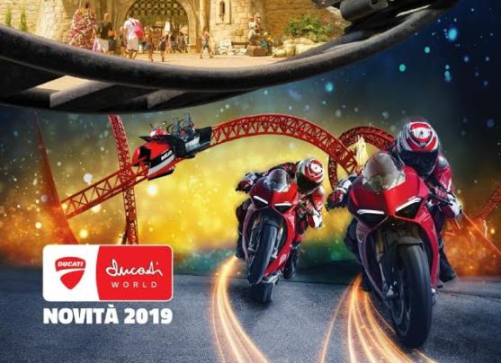 Mirabilandia Inaugura Mirabilandia (Ducati World a metà aprile)