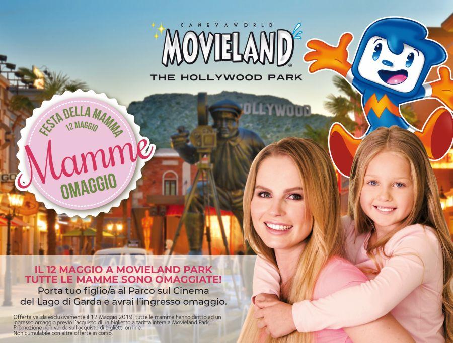 Movieland Park Domenica 12 maggio mamme gratis al parco