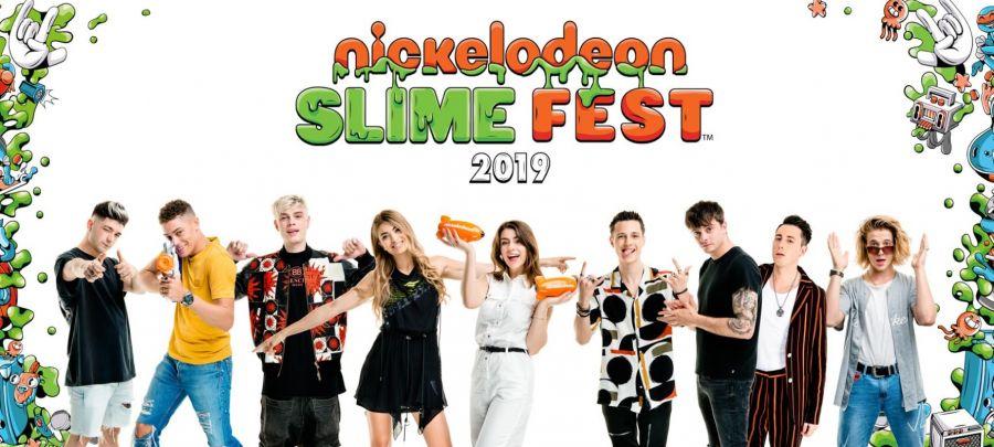 Mirabilandia Martina Attili e Mr Rain allo SlimeFest 2019