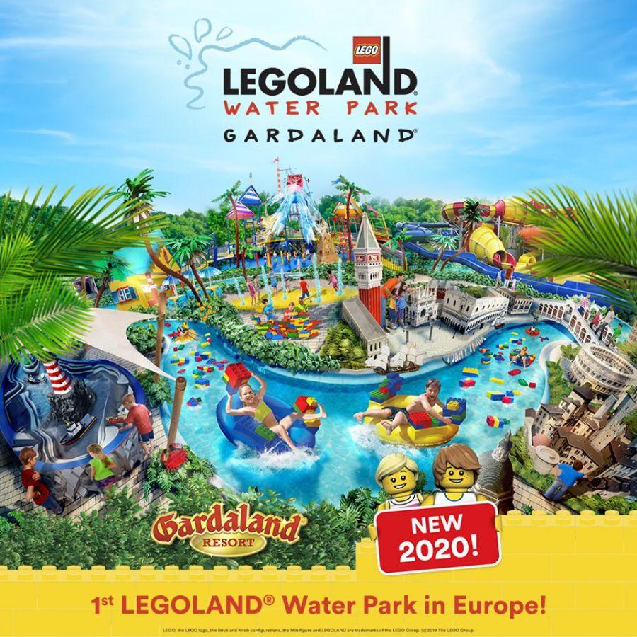 Gardaland Legoland Waterpark: il comunicato ufficiale