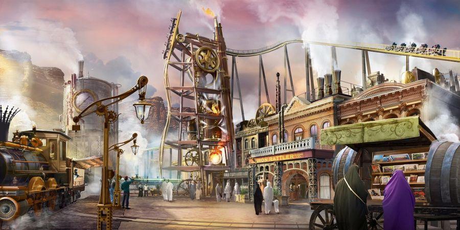 Six Flags Qiddiya - Il sei bandiere con il coaster più alto, veloce e lungo del mondo