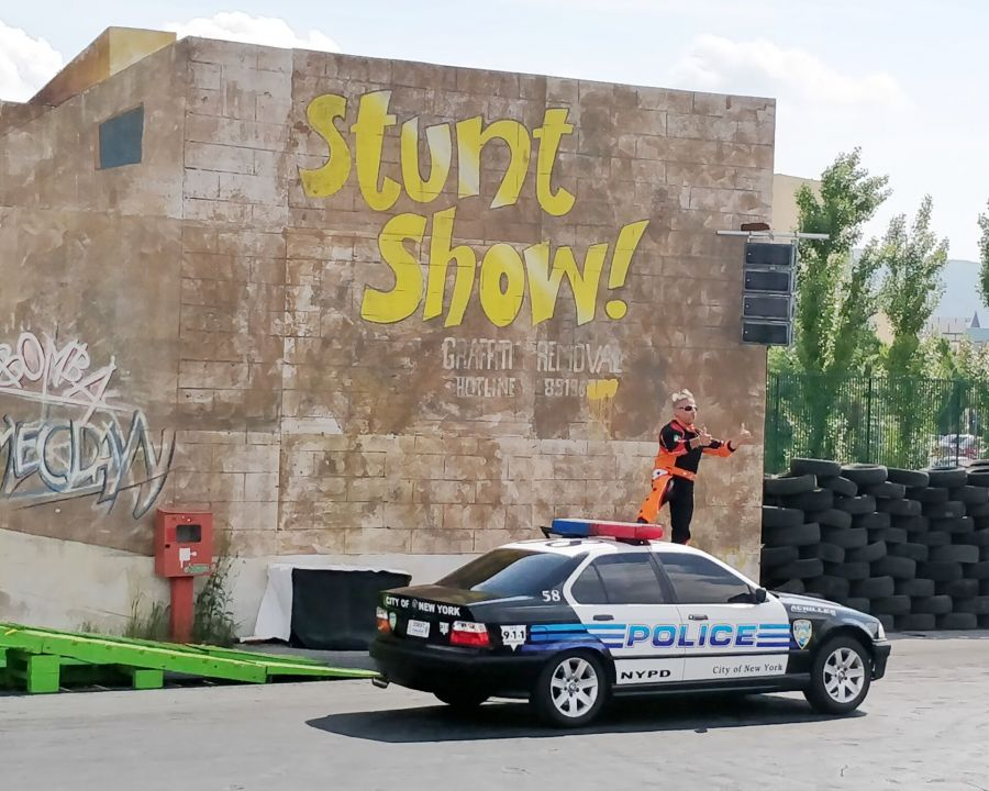 Rainbow MagicLand Nuovo Stunt Show!
