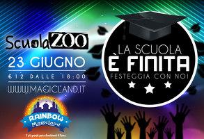 Rainbow MagicLand - Party di fine scuola fino alle 2 con Scuolazoo