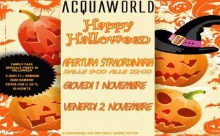 Acquaworld (Concorezzo) - Perchè non un tuffo (scontato) per Halloween?