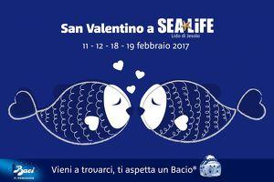 Sea Life Jesolo - 2x1 per San Valentino e un bacio in omaggio