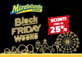 Mirabilandia - Per il Black Friday abbonamenti da 41 euro