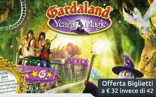 Gardaland - Offerte biglietti Gardaland per la stagione 2019 (fino a 10 euro di sconto)
