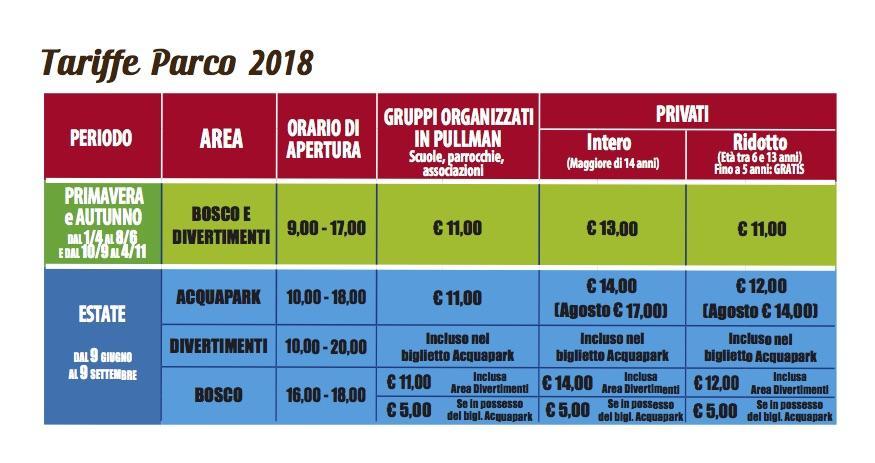 Miragica Calendario 2020.Prezzi E Biglietti Di Carrisiland Resort